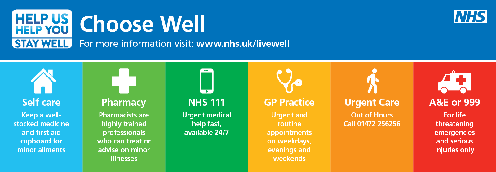 NHS Choose well winter graphic